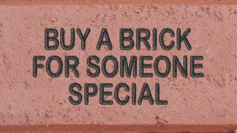 "Gold Level Paver Sponsor 21""X35"""""