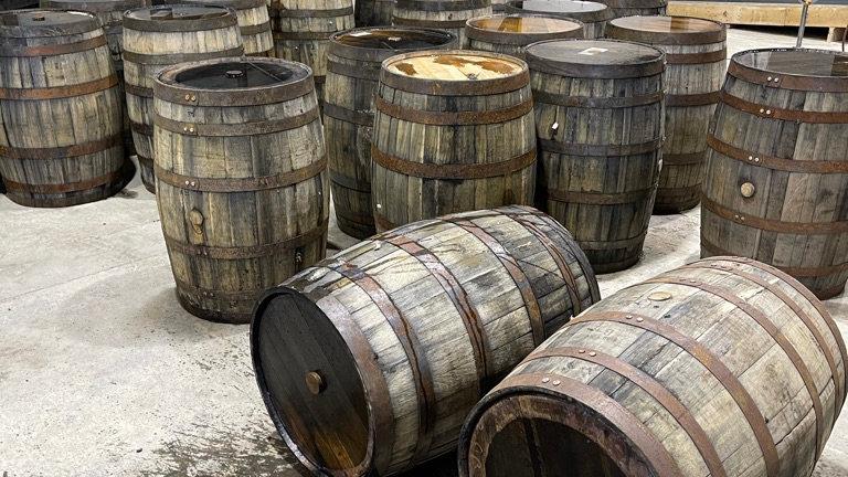 Whiskey - Bourbon barrels