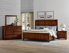 Vaughan-Bassett bedroom set sale
