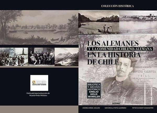 Libro los alemanes y la counidad Chileno