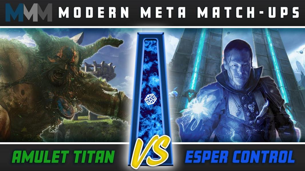 Modern Meta Matchups: Amulet Titan VS Esper Control