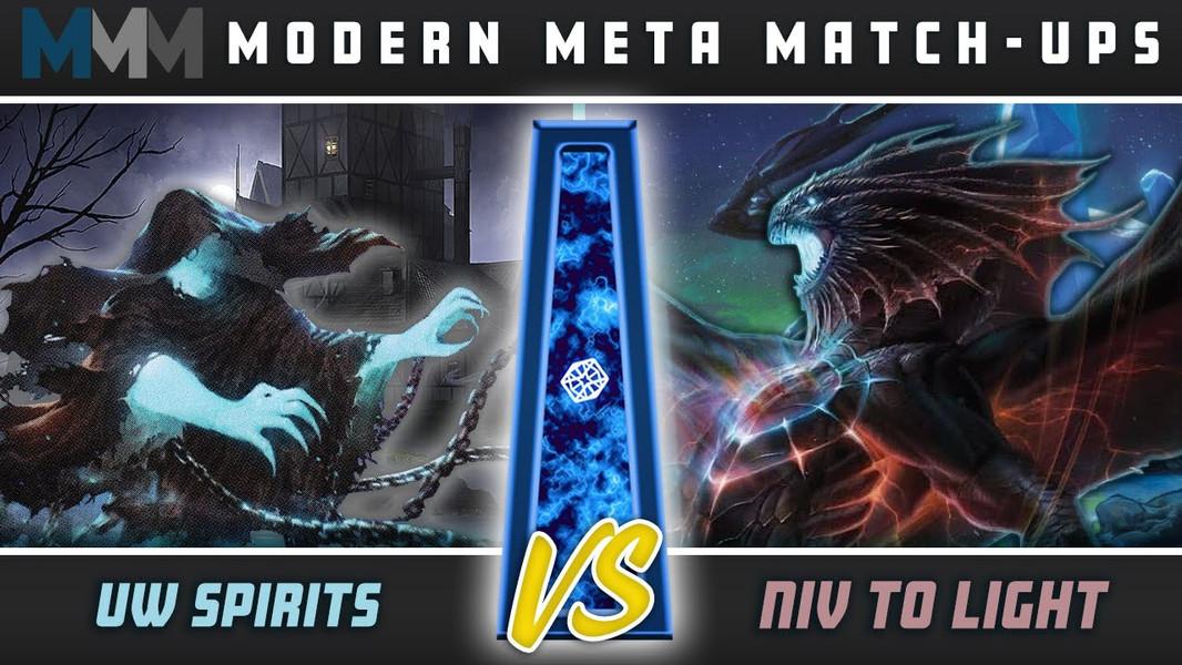 Modern Meta Matchups: U/W Spirits VS Niv to Light