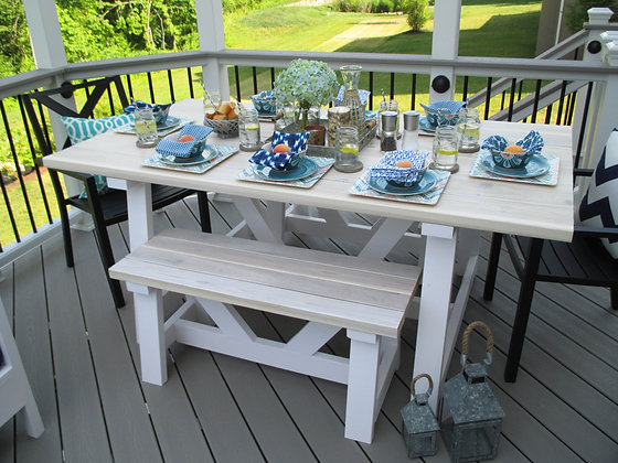 provence indoor + outdoor dining table