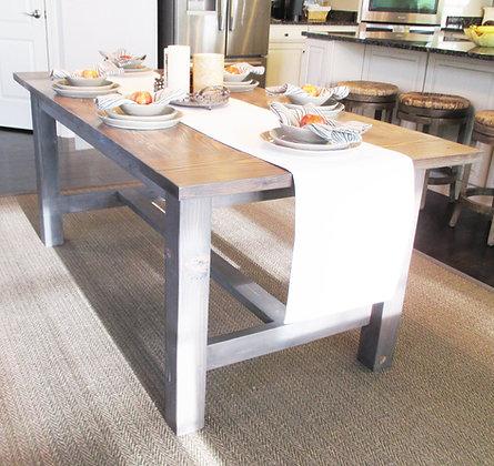 classic farmhouse dining table
