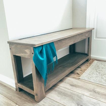 homestead entryway bench