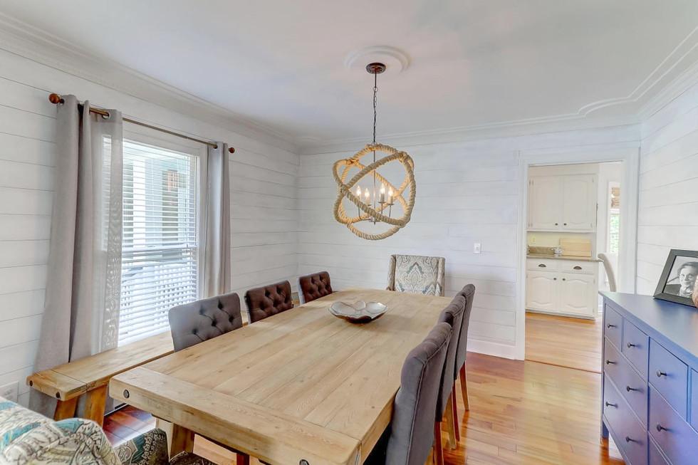 Lowcountry DIY Shiplap Dining Room