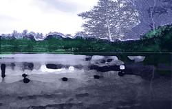 Lake at Fountains Abbey