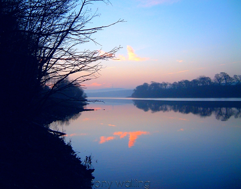 Sunrise at Fewston reservoir