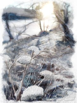 First Snow - River Nidd