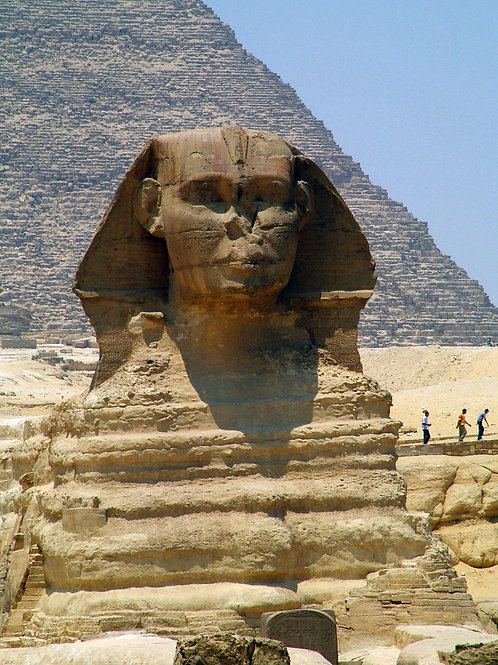 The Sphinx, Cairo Egypt 2008