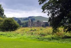 Bolton Abbey through the trees