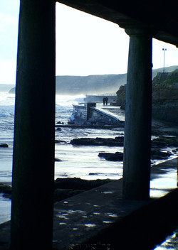 Scarborough front, Winter