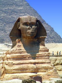Sphinx . Cairo