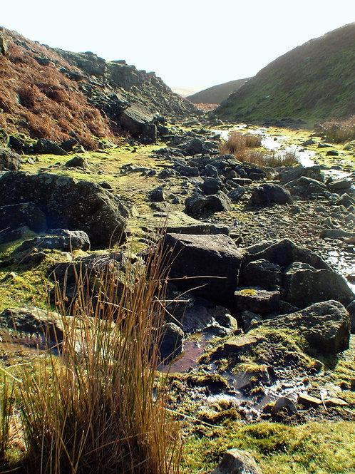 Valley near Grassington lead mines, Yorkshire