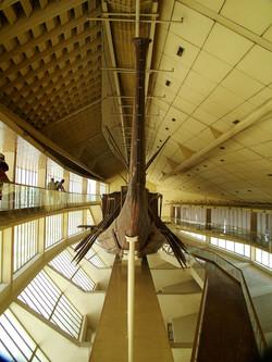 Solar Barge of Khufu. Giza 2000BC