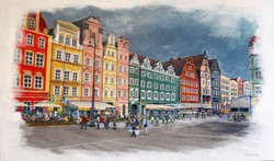 The Square at Wroclaw, Poland