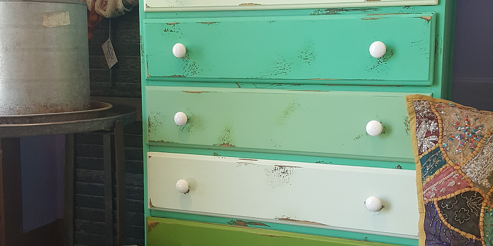 Furniture Painting Class