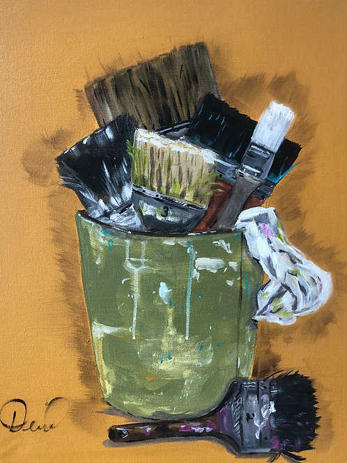 Bucket o' Brushes