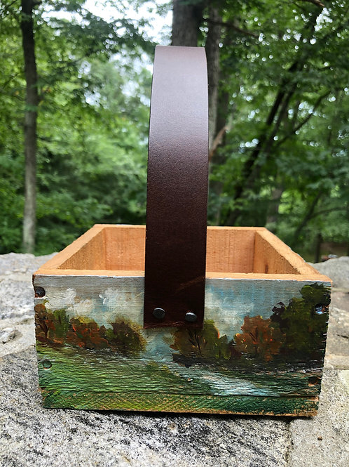 Hand Painted Berry Box