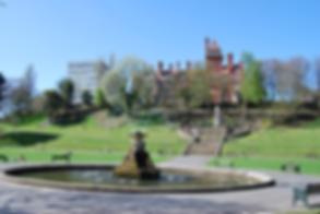 Water fountain Preston Park