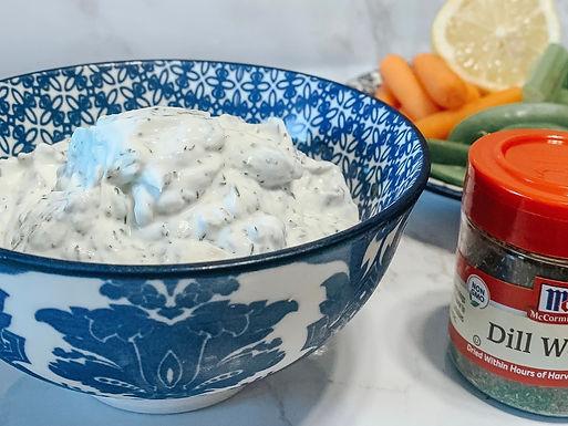 healthy summer dip recipe