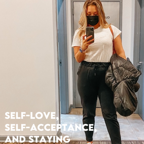 self-love, self-acceptance, and staying true to yourself