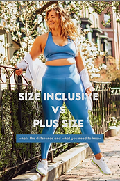 Size-Inclusive vs Plus Size: What's the difference?