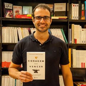 Autor Fabiano Barcellos, referência em liderança e empreendedorismo, faz palestra na Barra