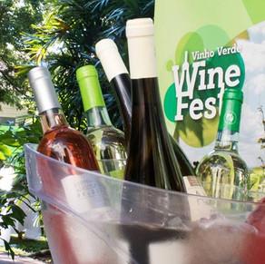 Deck do VillageMall recebe o Vinho Verde Wine Fest