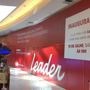 Leader inaugura mais uma loja na Barra