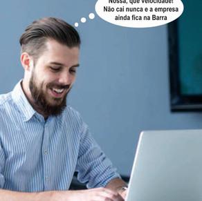 Internet pra chamar de sua