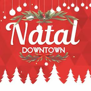 Papai Noel chega no Downtown no sábado, dia 24 de novembro