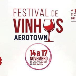 Festival de vinhos agita o Aerotown no fim de semana