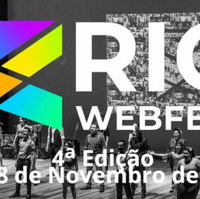 Rio WebFest acontece de 15 a 18 de Novembro na Cidade das Artes