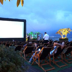 Cinema ao ar livre com os indicados ao Oscar 2020, no Barrashopping e VillageMall