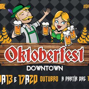 Oktoberfest Downtown reúne o melhor da cerveja artesanal em sua 5ª edição