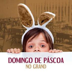 Almoço de Páscoa no Grand Mercure  tem buffet liberado, recreação infanti e muito chocolate