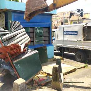 Lava a jato e ponto de mototáxi clandestinos são fechados no Itanhangá