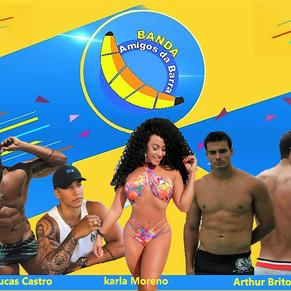 Banda Amigos da Barra promove pré Réveillon na orla