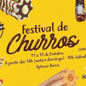 Uptown Barra recebe Festival de Churros