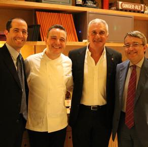 Câmara Ítalo-Brasileira de Comércio e Indústria promove celebração no restaurante Gabbiano