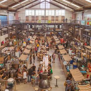 Folia no Mercado de Produtores no Uptown Barra