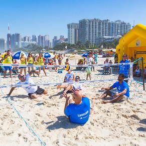 Barra da Tijuca recebe o desafio de vôlei sentado neste sábado