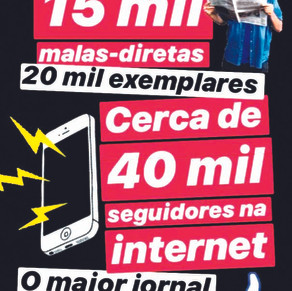 Único jornal da Barra a circular durante a pandemia, Folha comemora 22 anos