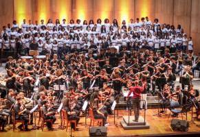 Orquestra Sinfônica Juvenil Carioca faz Concertos com transmissão ao vivo direto da Cidade das Artes