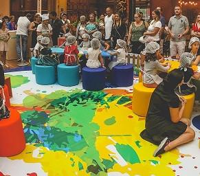 Mundo Infantil leva oficinas criativas ao BarraShopping