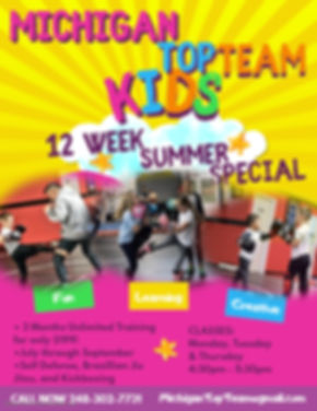 Copy of Kids Summer Camp Poster Flyer Te