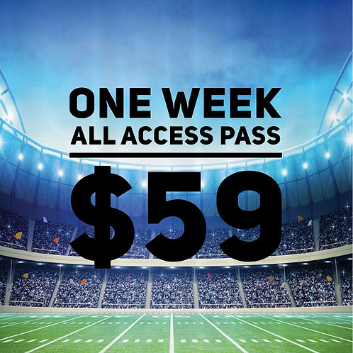 1 Week All Access Pass