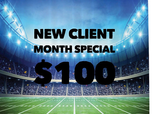 New Client Month Special