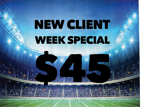 NEW Client Week Special